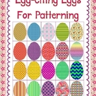 Egg-citing Patterned Eggs Clip Art Commercial Use OK