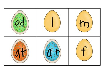 Eggcellent Word Family *Short A*