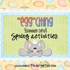 """Egg""citing Common Core Spring Activities"