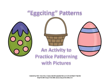 """Eggciting"" Patterns Patterning Activity"