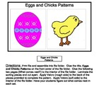 Eggs and Chicks File Folder Game