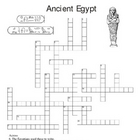 Egypt Art History Crossword (Egyptian Terms Review)