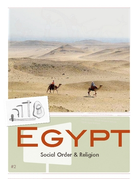 Egypt: Religion- Social & Political Order by Don Nelson
