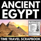 Egyptian Time Travel Scrapbook - Integrated Art, History,