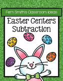 Easter Subtraction Center Games - Eight Concepts