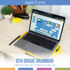 Eighth Grade Grammar Bundle
