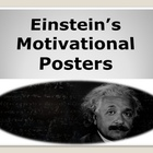 Einstein's Motivational  Posters