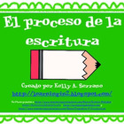 El proceso de la escritura ( The Writing Process Posters i