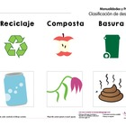 El reciclado (recycle poster)