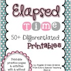 Elapsed Time 50+ Differentiated Printables