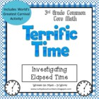 Elapsed Time Activity For 3rd Grade