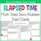 Elapsed Time Multi Step Story Problems