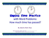 Elapsed Time Practice (to the hour and half hour)