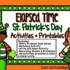 Elapsed Time St. Patrick's Day Activities & Printables