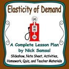 Elasticity of Demand - Activities and Lesson Plan