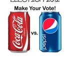 Election 2012 Coke vs. Pepsi  Electoral College
