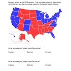 Election 2012: Converting Fractions/Decimals/Percents Usin