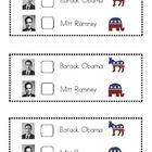 Election Ballot for &#039;12 Presidential Election~