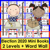 Election Day Emergent Readers Mini Books and Class Electio