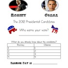 Election Day Persuasive Writing Pack