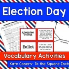 Election Vocabulary Activities