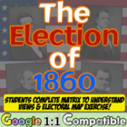 Election of 1860 Debate Simulation:  A Precursor to Civil War!