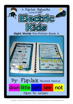 Electric Kids Sight Word MagnetMat Fun