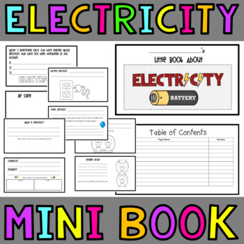 Electricity Mini Book
