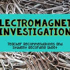 Electromagnets Investigation