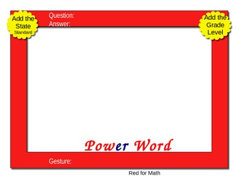 Electronic PowerPix Templates