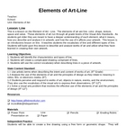 Element of Art - Line Lesson