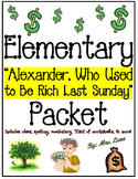 """Elementary """"Alexander Who Used to Be Rich Last Sunday"""" Pac"""