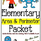 Elementary Area &amp; Perimeter Packet (SUPER JAM-PACKED!)