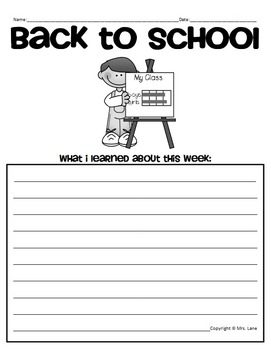Elementary Back To School Packet (JAM-PACKED!)