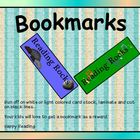 Elementary Bookmarks