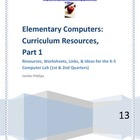 Elementary Computers: Curriculum Resources-Part 1