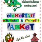 Elementary Congruency &amp; Symmetry Packet (JAM-PACKED!)