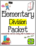 Elementary Division Packet (JAM-PACKED!)
