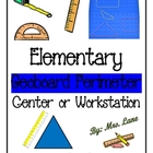 Elementary Geoboard Perimeter Center/Workstation!