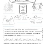 Elementary Landform Test
