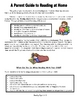 Elementary Math, Reading & Writing Parent Handouts