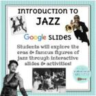 Elementary Music Jazz Unit, Ragtime-The Blues, Lessons & S