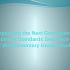 Elementary Next Generation Science Standards Training Powe
