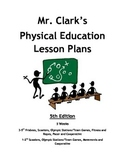 Elementary Physical Education Lesson Plans 5th Edition