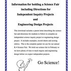 Combo Pack: Science Inquiry and Engineering Design Project