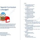 Elementary Spanish Curriculum on a Budget!