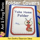 Elementary Work Folders / Daily Folders Covers ~ Ant & Fro