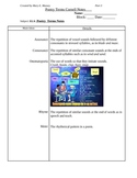 Elements of Poetry PowerPoint Cornell Notes Part 3