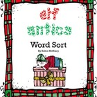 Elf Antics Word Sort Activity