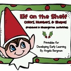 Elf ~ Colors, Numbers, and Shapes (Preschool Activities)